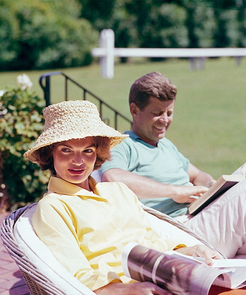 JFK and Jackie 1959 by Mark Shaw