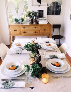 Thanksgiving Table Ideas from SF Girl by the Bay