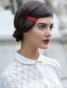 French Girl Red Lipstick