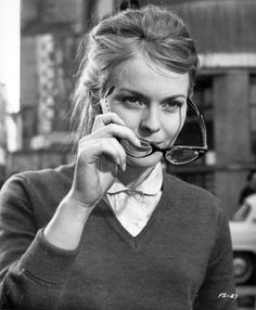 Jean Seberg in French Style