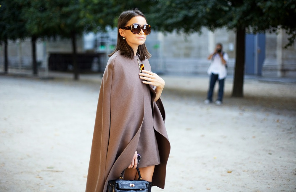 cape and dress chic