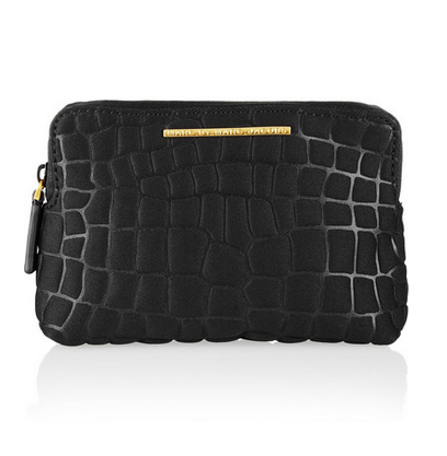 MARC BY MARC JACOBS In A Bind embossed neoprene cosmetics case