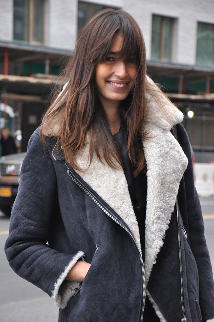 Chic in Shearling