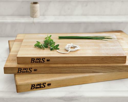 Boos Edge-Grain Rectangular Cutting Boards