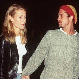 Brad and Gwyneth White Tee Shirts 90's