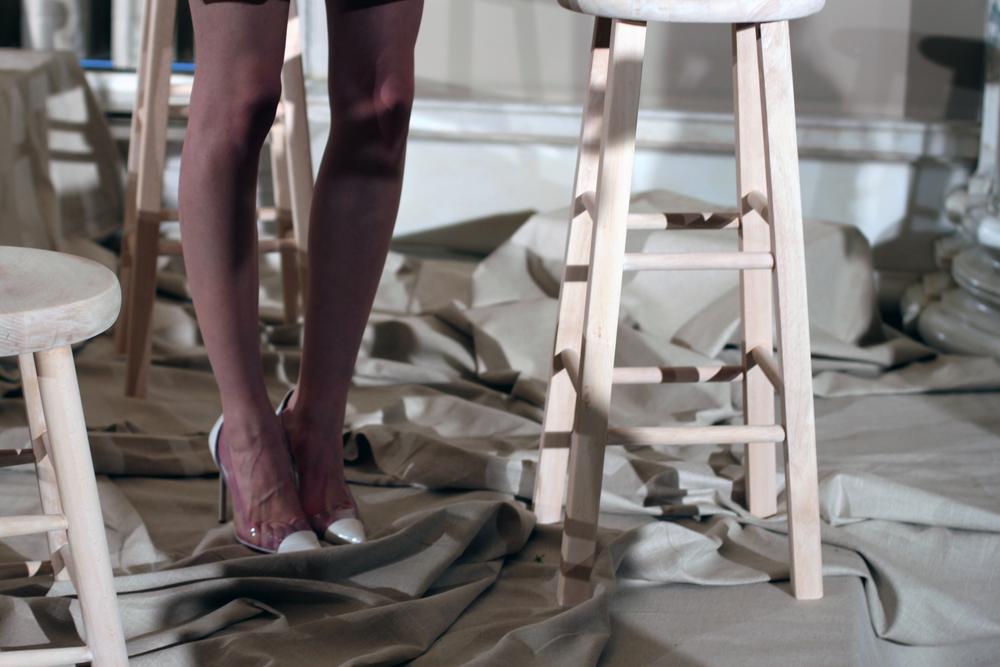 Amazing Louboutin Shoes at Erin Featherston