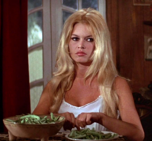 Bardot and Green beans