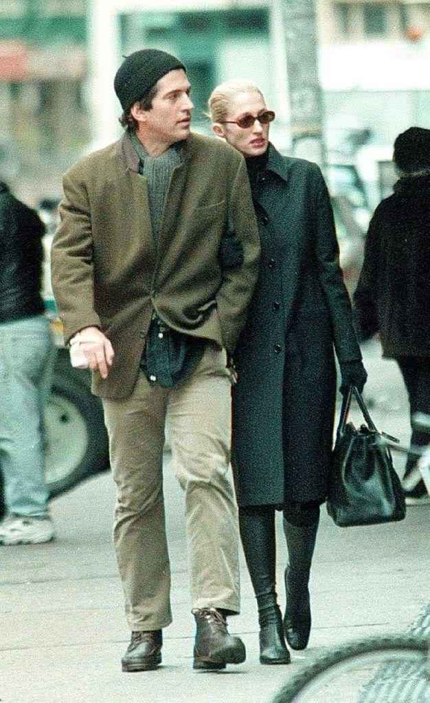 Carolyn Bessette and JFK Jr