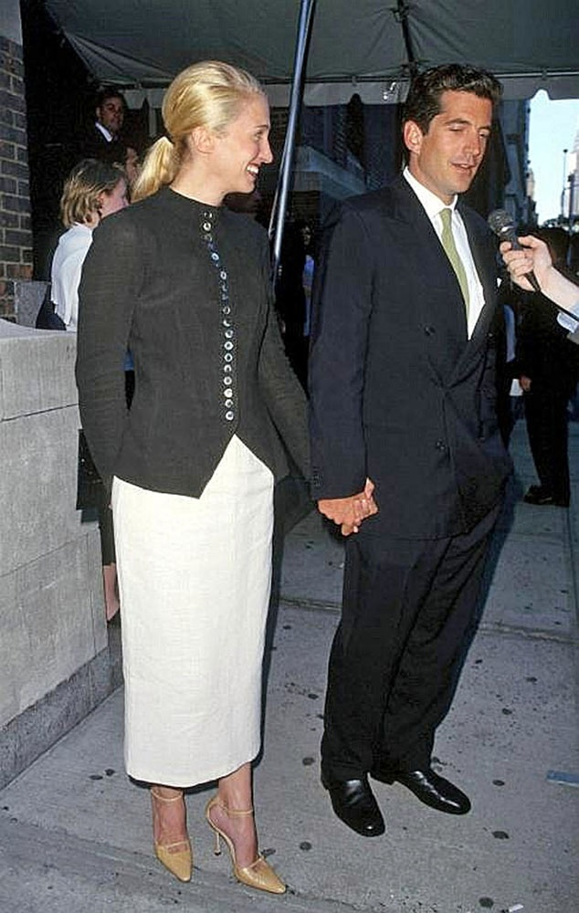 Carolyn Bessette Kennedy in Yojhi Yamamoto