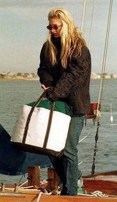 Carolyn's LL Bean bag