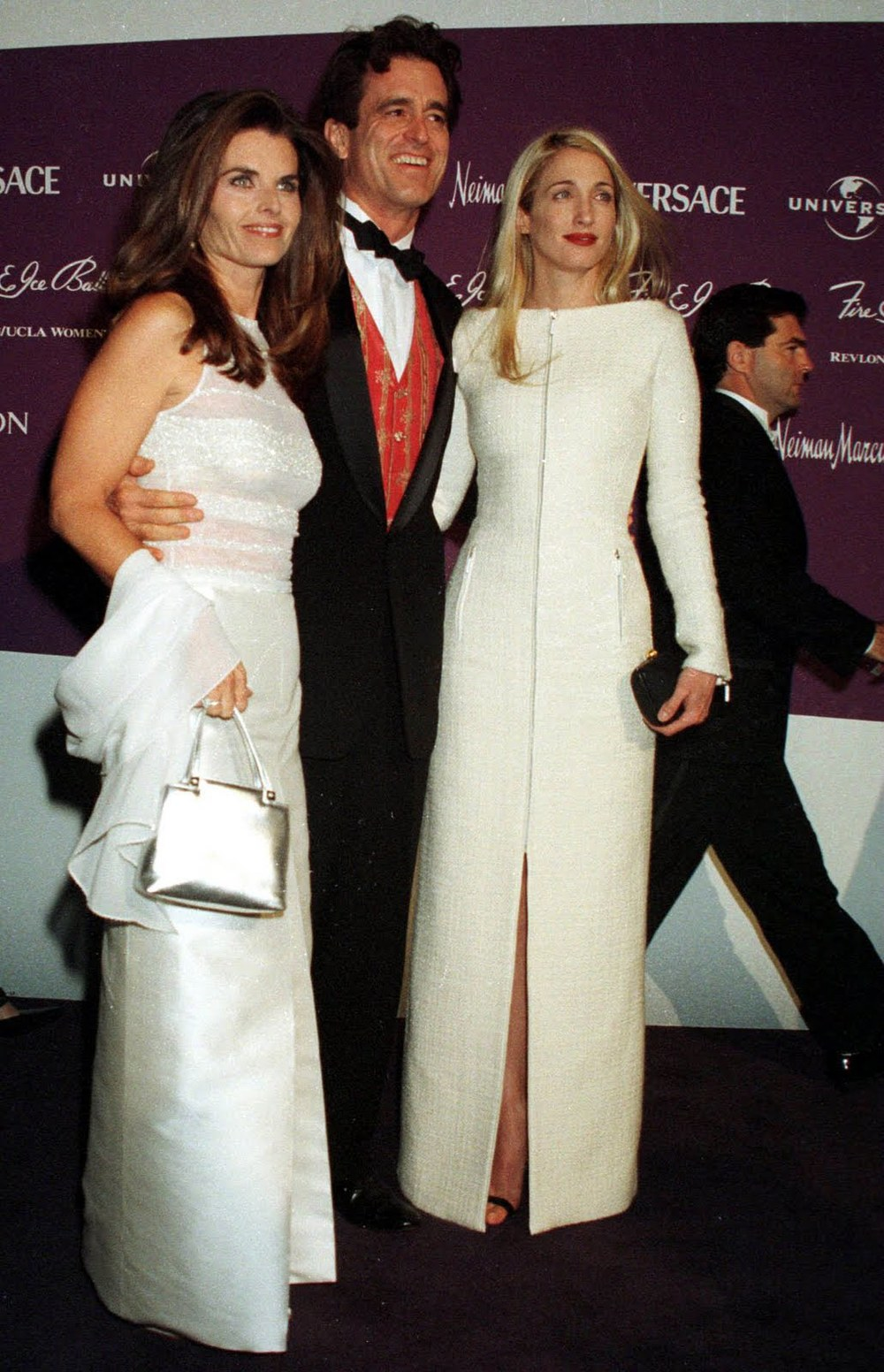 Carolyn Besette at The Fire and Ice Ball in Yohi