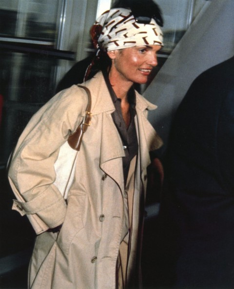 Jackie-Onassis Trench and Signature Scarf