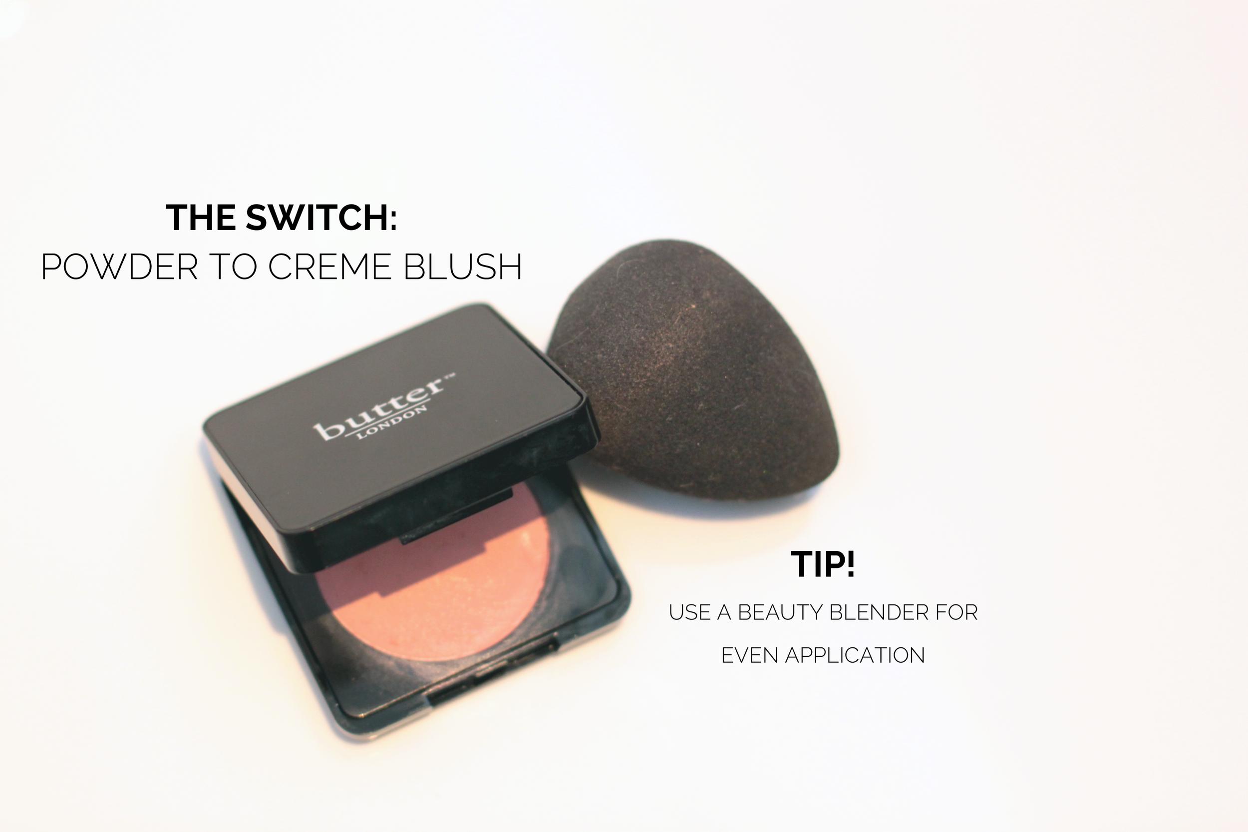 Powder to Creme blush