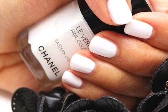 Chanel White Nail Polish