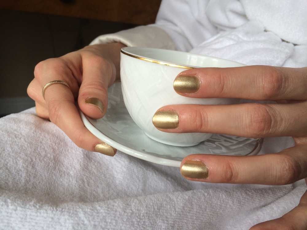 Caitlin FitzGerald butter London Golden Mani