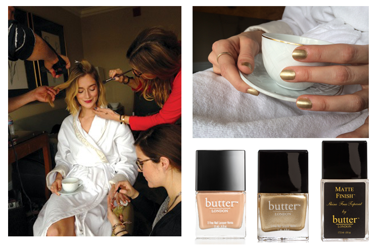 Caitlin Fitzgerald's butter London Globes Mani