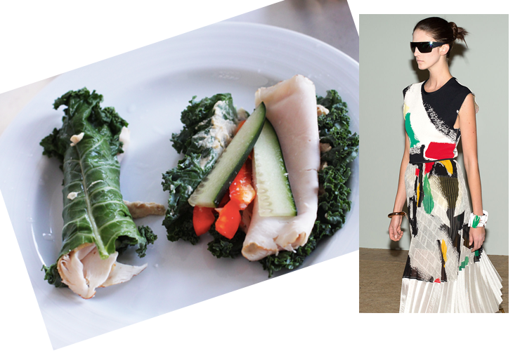 Celine Summer '14 Inspired Food