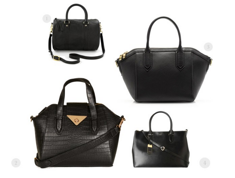 Black Affordable Statement Bags