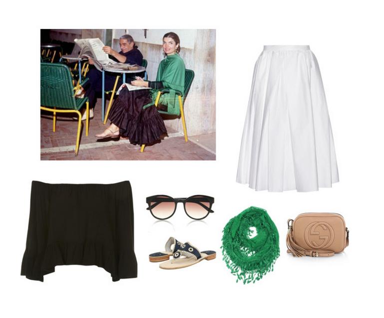 Jackie O Island Style Inspiration - Jack Rogers - Gucci