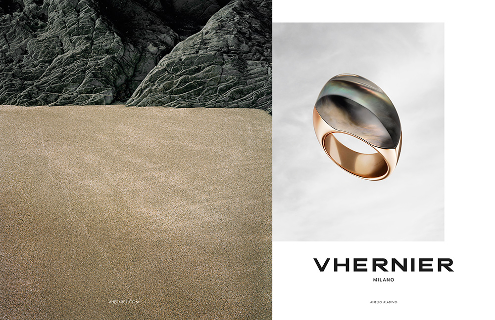 "Short-listed in the category ""Jewellery & Watches"" - Vhernier 2015"
