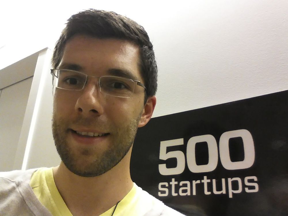 500 Startups visit in Silicon Valley. An example of the many introductions I got.