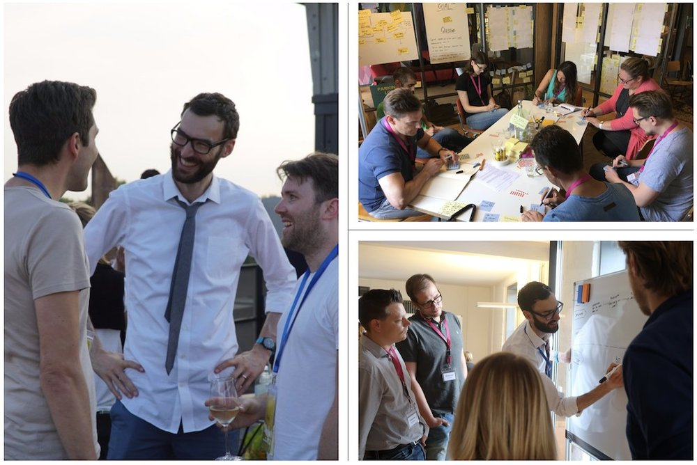 At AJ&Smart, we organised several Design Sprint Bootcamps in Berlin and San Francisco with   Jake Knapp  , the inventor of   Sprints  .