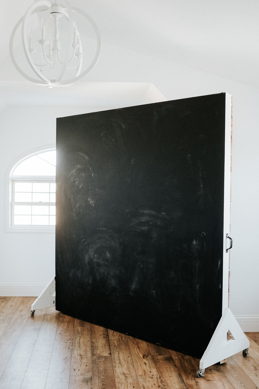 Chalk board wall on the reverse side!