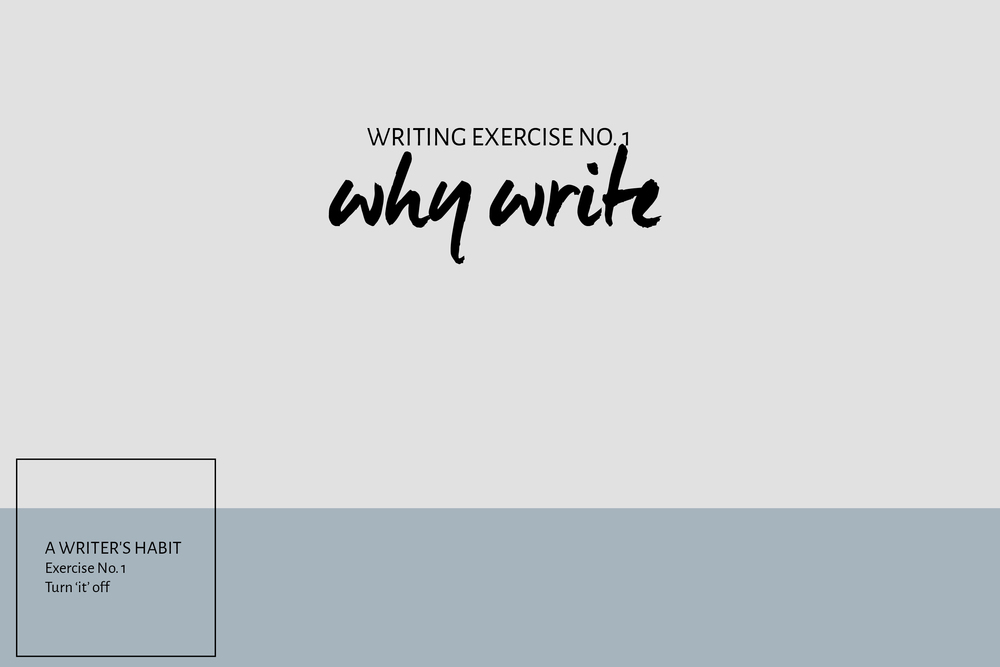 A Writer's Habit, Exercises in Growing as a Writer | Leia Bryn