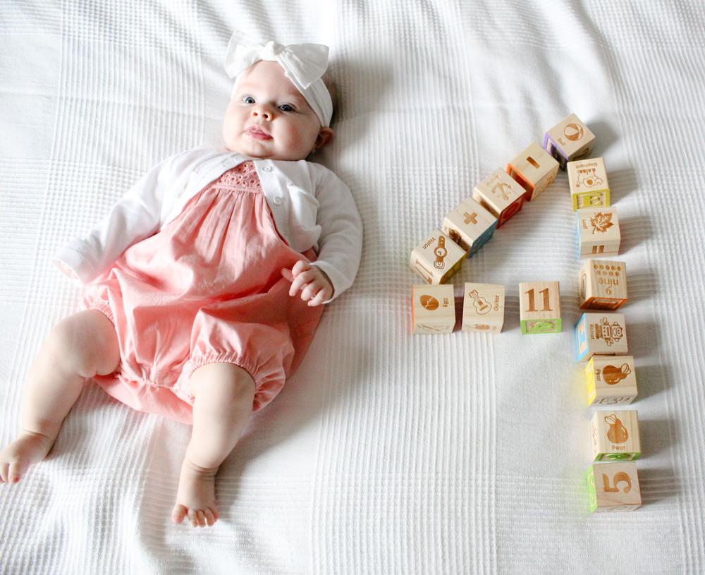 Bray Ruby at 4-Months | Leia Bryn Blog