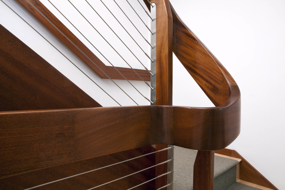 custom handrail detail