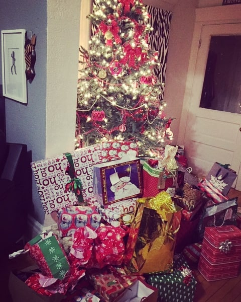 """Thank you to all of our families who contributed to our Christmas Blessing Project. Partnering with the Women's Care Center, we sponsored Danielle's family - a client of the WCC.  A note from Danielle... """"Thank you everyone for your generosity. We truly feel blessed this Christmas."""""""