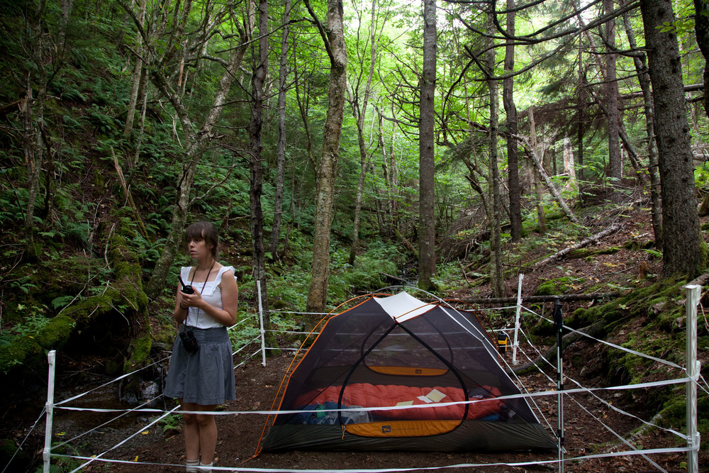 "Protect Your Love, Cape Chignecto Site,  C-Print, 16"" x 24"", 2012"