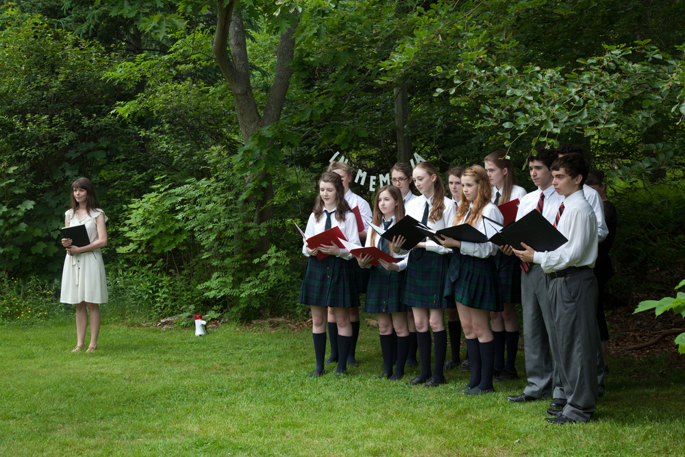 In Memoria,  public performance in Point Pleasant Park, Halifax NS, June 22nd, 2013