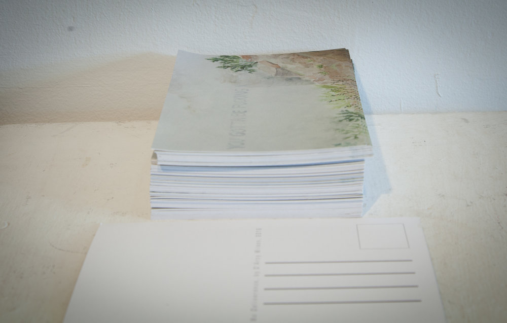 No Deliverance (Postcards)  , printed in 2016