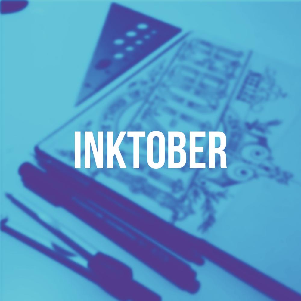 Inktober Lettering - Hand Lettering
