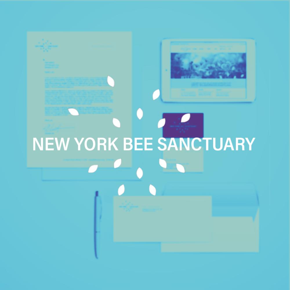 New York Bee Sanctuary - Branding / Web Design / Print
