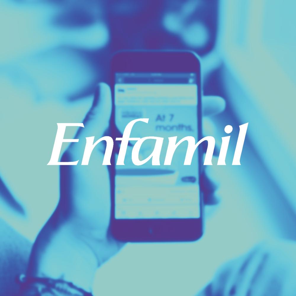 Enfamil - Social Media Design / Mobile