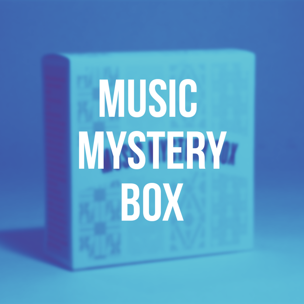 Music Mystery Box - Packaging / Print