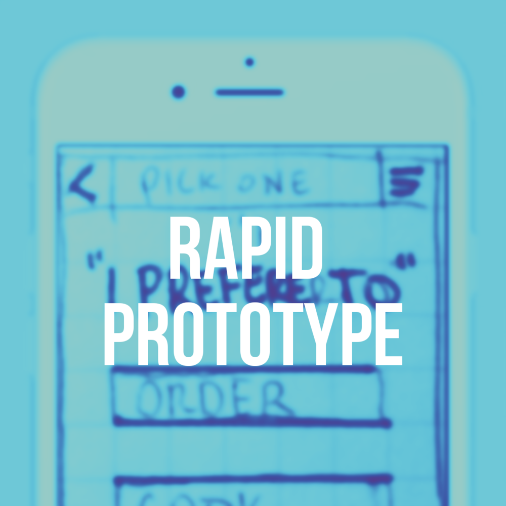 Rapid Prototype - UX Project