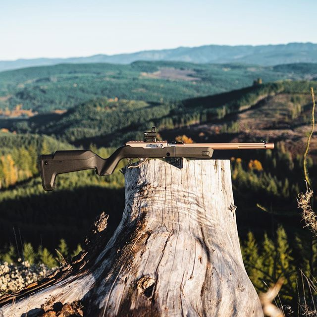 The PNW views are 👌🏼but the X-Ring rifle is the cherry on top.