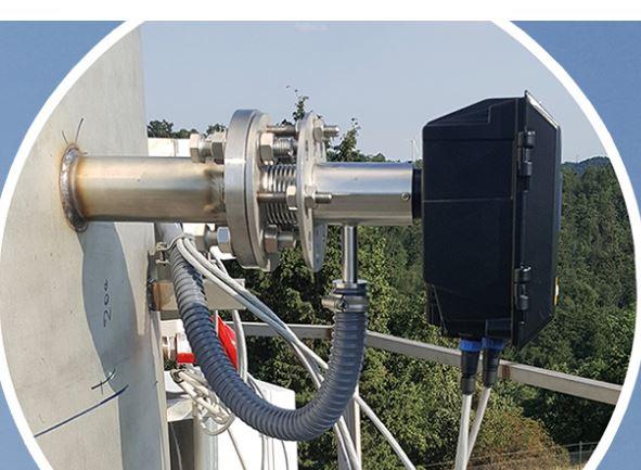 Cross-stack LASER gas monitoring