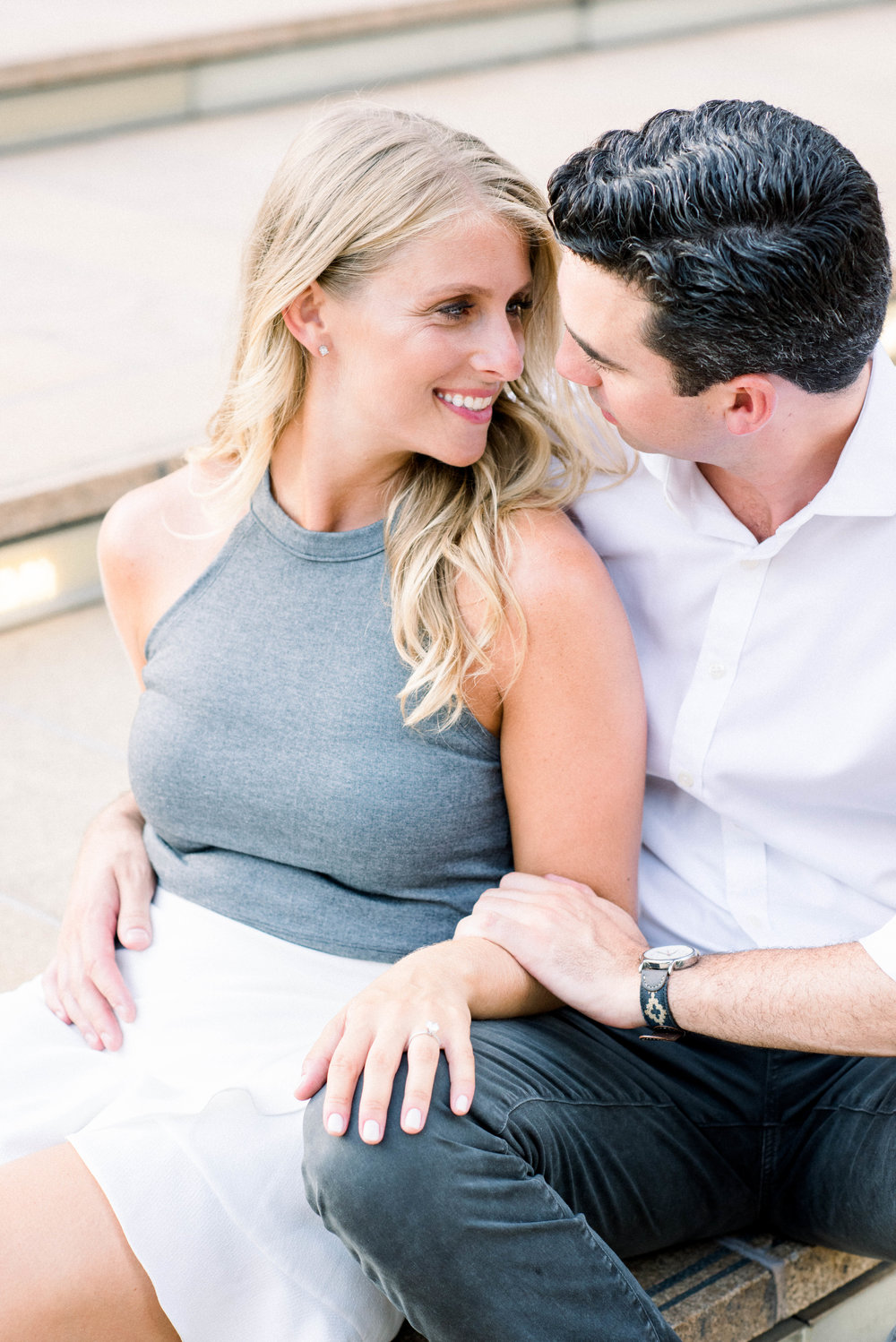 Upper West Side Engagement Photos