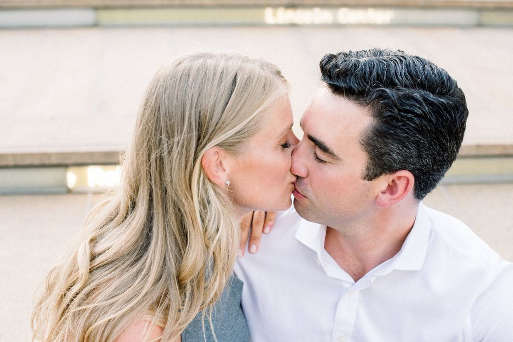 Engagement Session in Lincoln Center