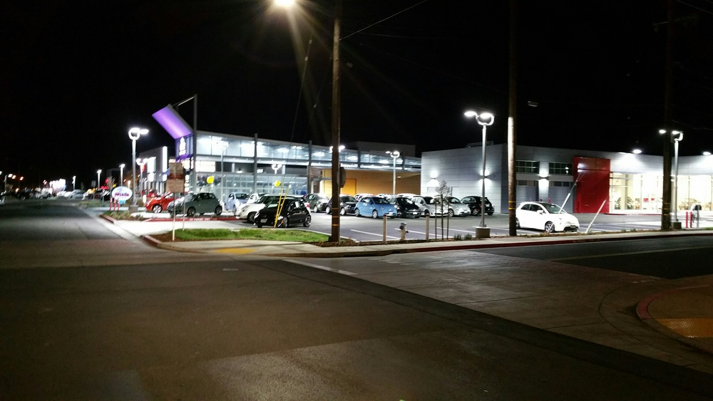 Awaken LED Lighting - Fiat Santa Roasa Car Dealership Case Study 1