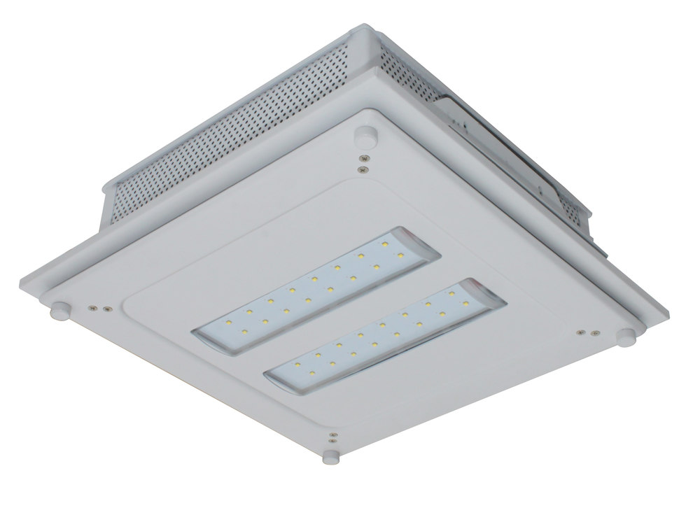 Awaken led lighting hxi canopy light gas stations