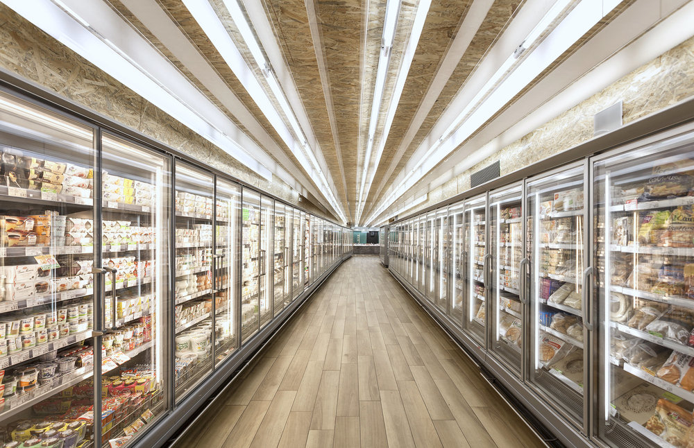 Copy of Awaken LED Lighting - Grocery Stores - Refrigeration Doors - Daisy Chain - Meat - Food - Produce