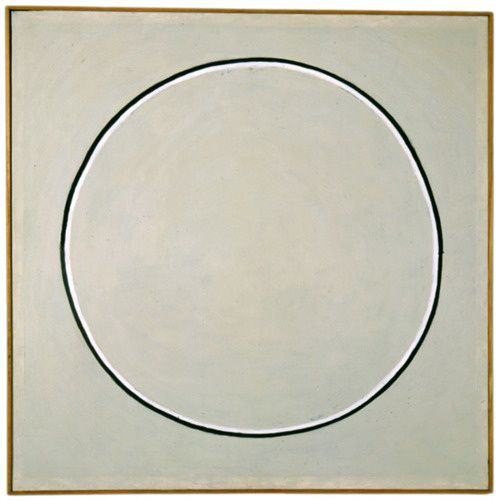 Agnes Martin,  Untitled , Oil on Canvas, 1960