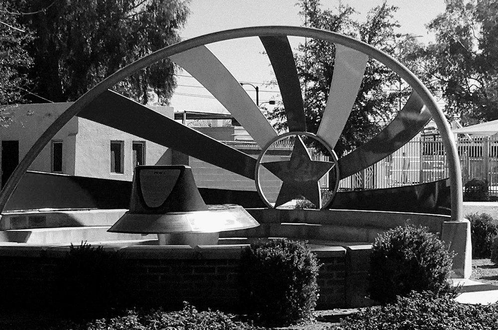 Eastlake Park Civil Rights Memorial, Phoenix, Arizona, Photo by Eva Shivers