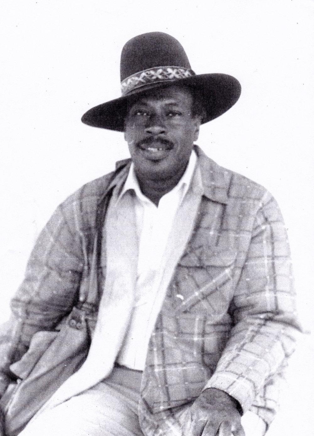 Photograph of artist Earl Cooke
