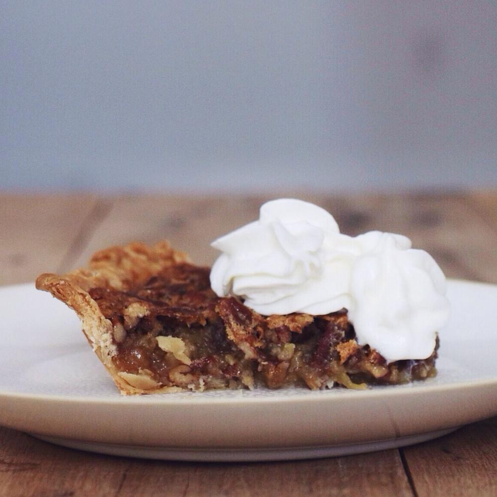 Post-Thanksgiving pecan pie gluttony